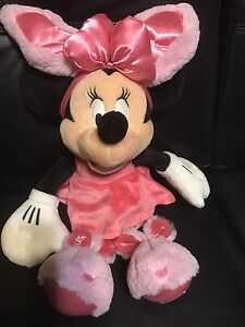 Easter Minnie Mouse stuffed doll