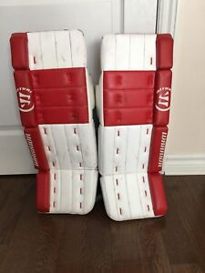 Goalie Pads Warrior + other items