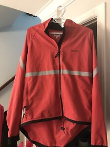 Salmon colour Running Room Jacket