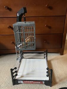 WWE toy Crash Cage with figure!