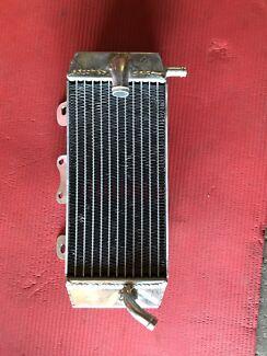 Yz 250f left side radiator