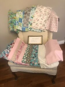 Home made baby quilts, hand quilted