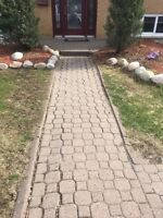 Stone re-leveling