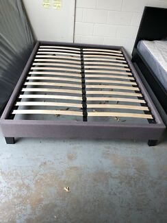 【BRAND NEW】fabric bed base flat pack can fit in any car