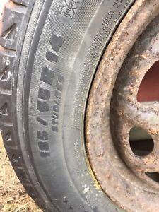 Michelin winter tires 185 / 65 R14