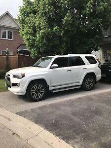 2014 4Runner Limited Pearl White 7 seater