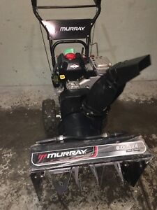 Murray snowblower only a couple years old  8 horsepower/24 inch