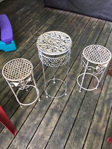 Outdoor tables/plant stanfs
