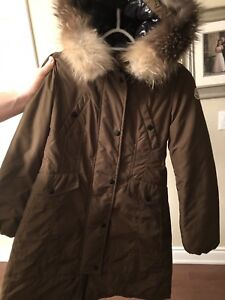 Girls Moncler coat size 12