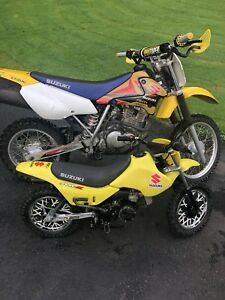2 kids /youth SUZUKI AND HONDA TRX 70