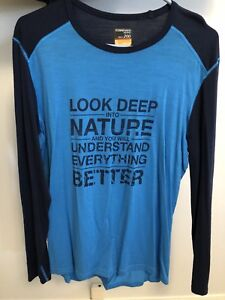Men's North Face and Icebreaker shirts