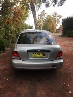 2001 Hyundai hatchback