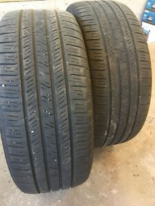 2 All season Goodyear tires - 225 / 55R17