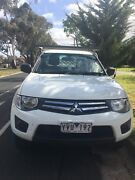 Mitsubishi triton Glx 2012 manual Diesel Hoppers Crossing Wyndham Area Preview