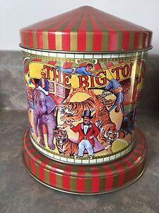 The Big Top circus tin