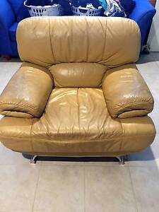 Leather Armchairs - Used Yowie Bay Sutherland Area Preview