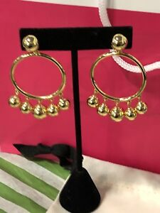 Authentic Kate Spade earrings - gold