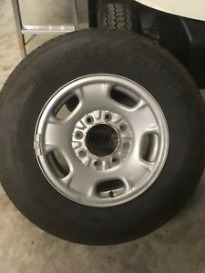 Chevy 3/4 rims and tires