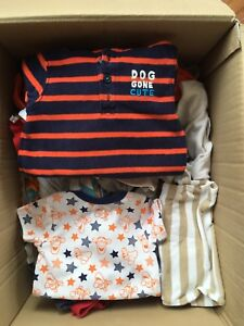 Box of Baby Boy Clothing (6-12 months)