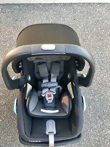 2017 UPPAbaby Mesa infant car seat, base and rain cover