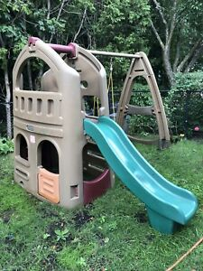Sliding and swing set  for sale
