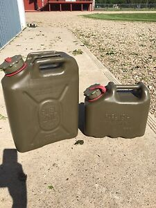 Military Jerry Cans