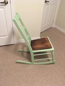Antique looking rocking chair