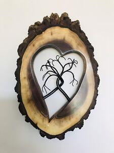 Christmas gift. Art Sculpture. Live edge.Tree of life. Wedding