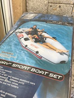 Heavy duty inflatable boat