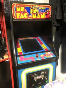 60 in 1 Arcade in Ms PAC-MAN Cabinet