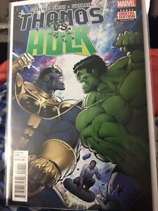 Marvel Comics Thanos vs Hulk 1-3