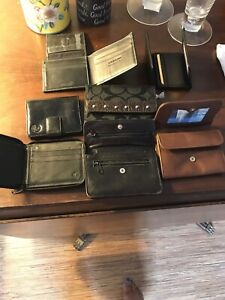 wallets all leather and brand new
