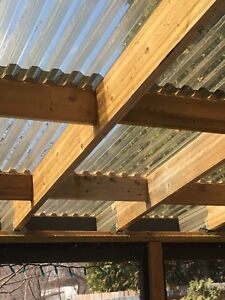 Corrugated roofing mounting brackets