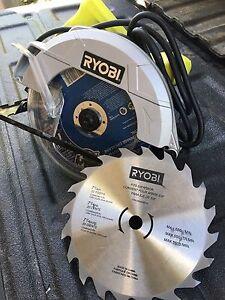 Ryobi electric skilsaw