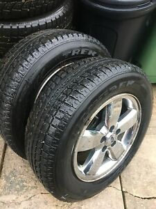235 65R17 Winter Tires & Rims only 2