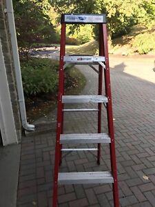 Pro-Lite 6ft Fiberglass step ladder