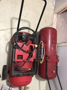 Two compressor air tank for sale