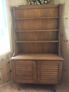 Solid Wood Display Cabinet/Sideboard/Storage $50