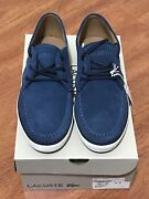 Lacoste Sevrin Navy Shoes Edensor Park Fairfield Area Preview