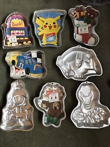 Lot of cake pans $50 or $5 for any one.