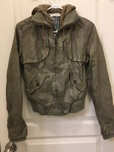 Teens/young adults faux jackets - never been worn