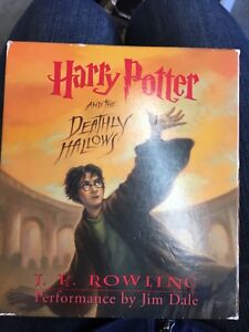 Audio of Harry Potter and the Deathly Hallows by J.K. Rowlings