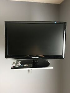 For Sale: 24in Samsung HDTV & Wall Stand