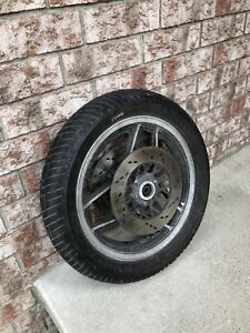 Front wheel for 1983 Suzuki GS750E and other.