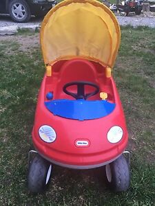 Little Tikes Car with Push Bar