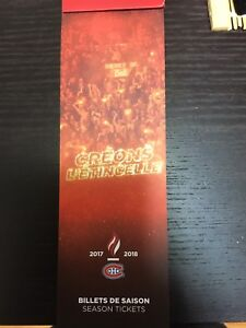 Montreal Canadiens tickets - section Desjardins at cost !