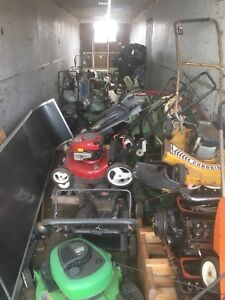 Spring cleaning! UsedLawnmowers, marine engines and accessories