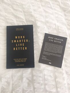 Book for sale: Work Smarter : Live better by Cyril Peupion