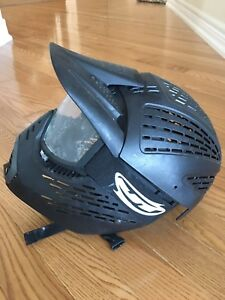 Like New Black Paintball Helmet For Sale! (Youth)