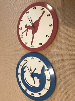 Gorgeous kid's clocks!
